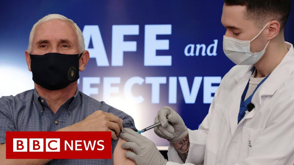 Covid: US Vice-President Mike Pence receives vaccine live on TV – BBC News