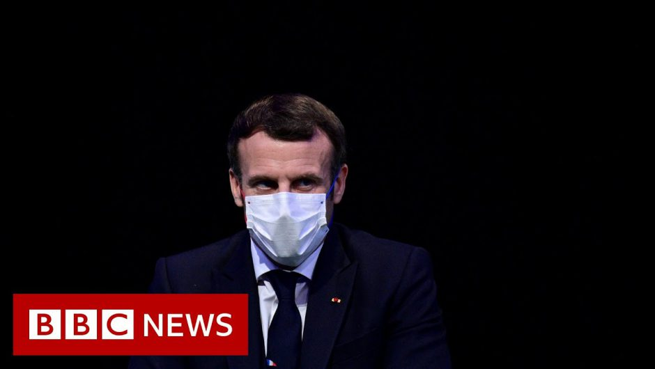 French President Macron tests positive for Covid – BBC News