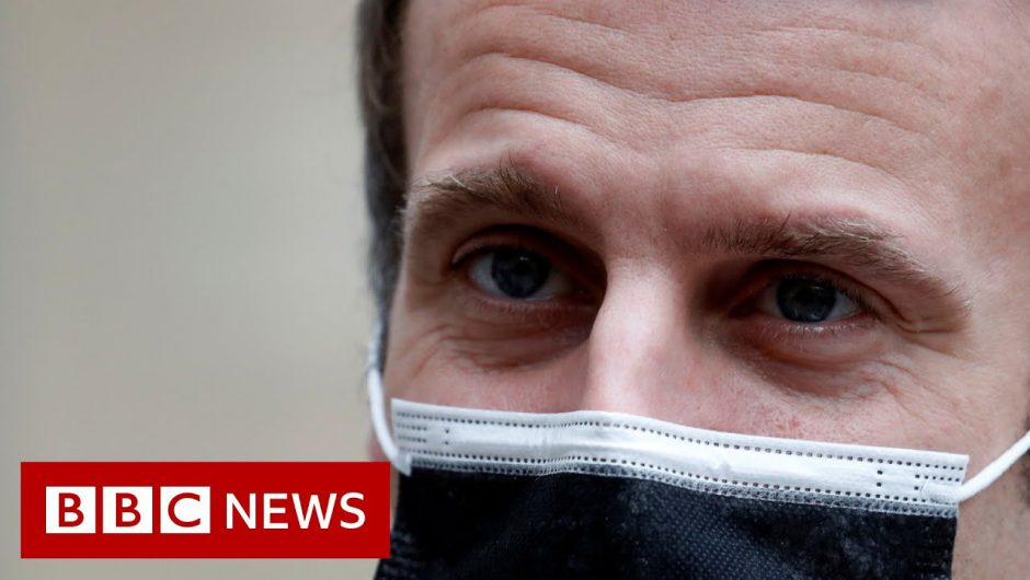 Emmanuel Macron: French president tests positive for Covid – BBC News