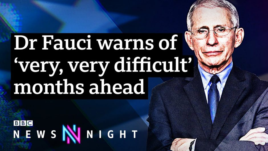 Dr Anthony Fauci warns against gatherings at Christmas – BBC Newsnight