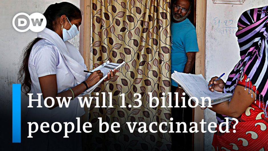 India: How to vaccinate 1.3 billion people? | DW News