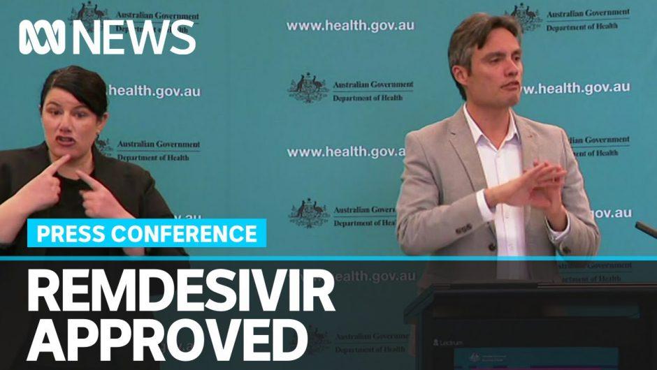 Coronavirus update: Deputy CMO says Remdesivir used for Victorian coronavirus patients   ABC News