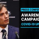 Advertising campaign to raise awareness of how quickly COVID-19 spreads | ABC News