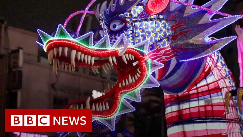 Korean lantern festival gets Unesco heritage honours – BBC News
