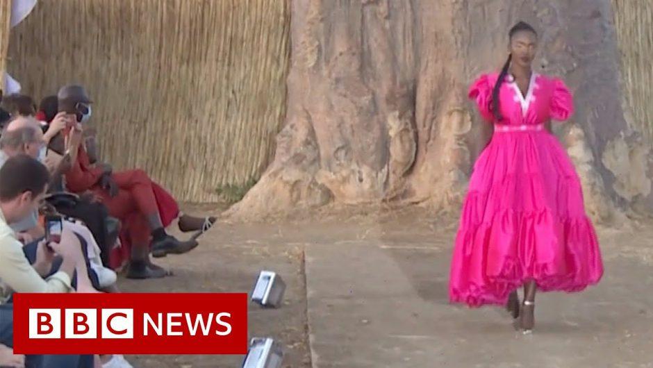 Senegal's fashion week during a pandemic – BBC News