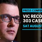 Victoria's COVID-19 trend continues downward with 303 new cases | ABC News