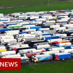 Queues of lorries remain in Kent – BBC News
