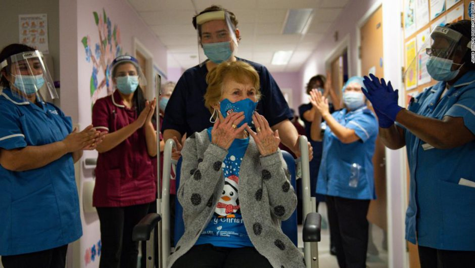 Covid-19 vaccine: First UK citizens receive shot, a landmark moment in the pandemic