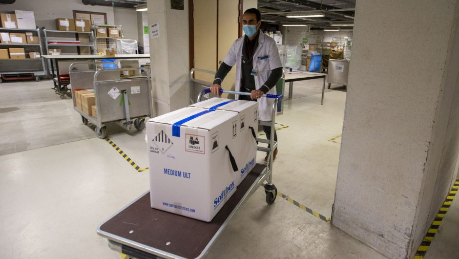 COVID-19 vaccine shipments arrive across EU before rollout