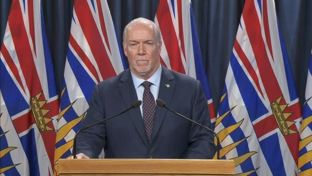 B.C. premier says government determined to deliver COVID-19 relief payments