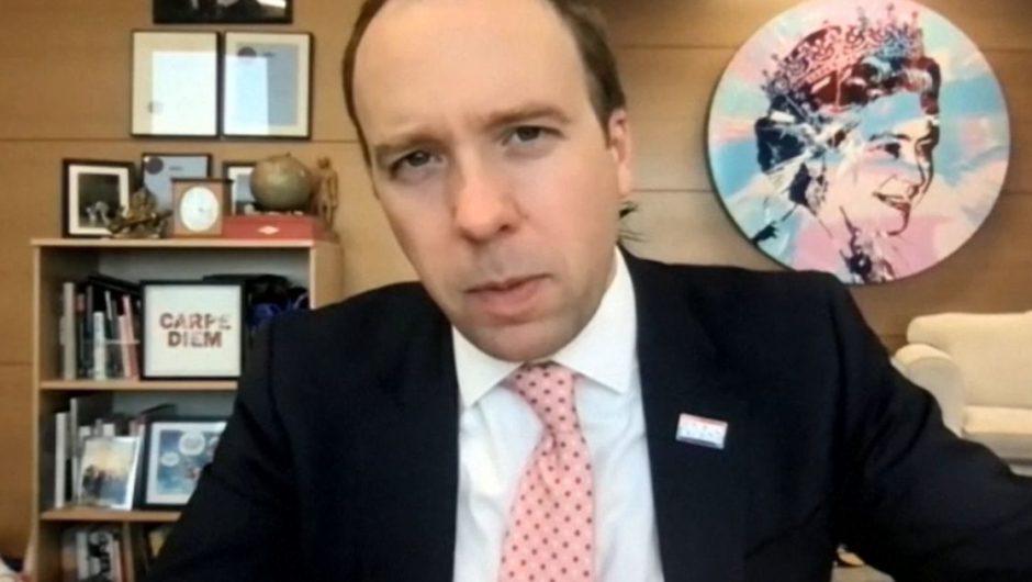 Every UK adult to be offered coronavirus vaccine by autumn, promises Matt Hancock