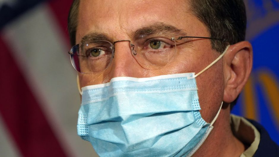 Alex Azar's resignation letter paints a misleading picture of Trump's coronavirus response