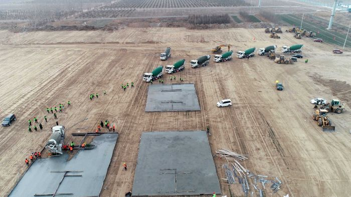 China builds massive COVID-19 isolation centre as cases in Hebei province surge