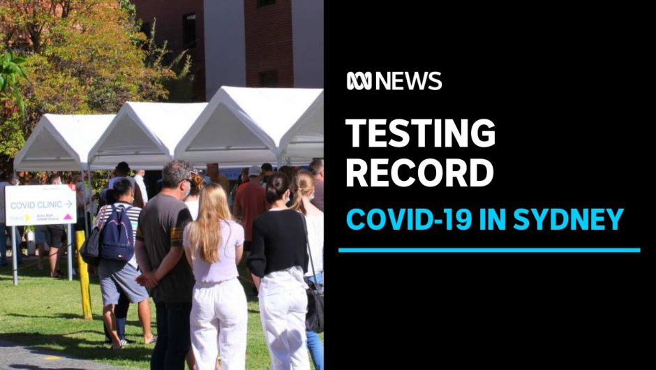 Coronavirus testing rates hit record levels in Sydney as Christmas Day looms | ABC News