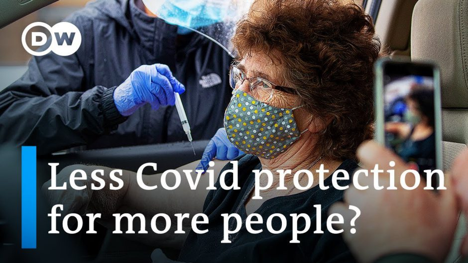 Covid vaccine shortages: Could delaying a 2nd dose be the answer? | DW News