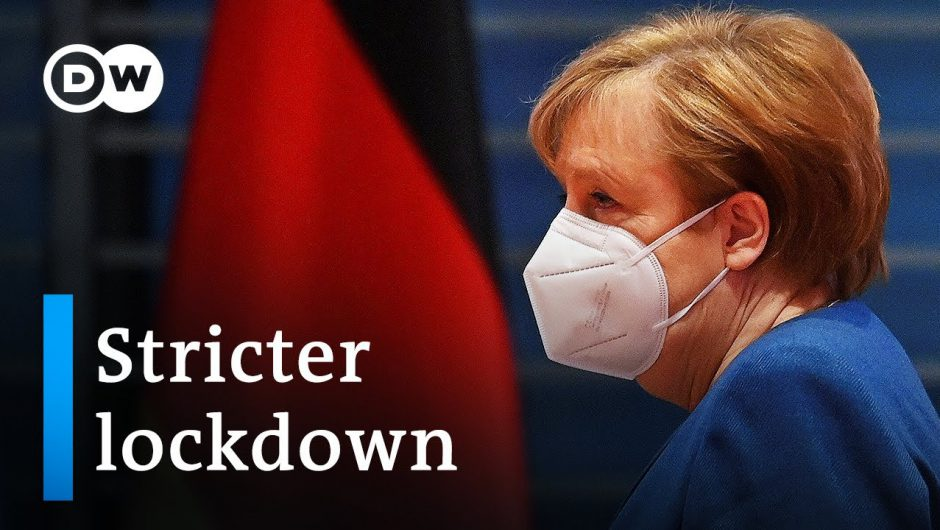 Germany tightens lockdown restrictions: Are they legal?   DW News