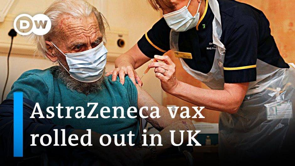 COVID-19 latest: AstraZeneca vax rolled out +++ Germany extends shutdown till January 31 | DW News