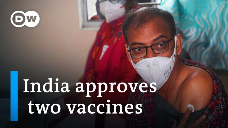India aims to vaccinate 300 million against Covid by July | DW News
