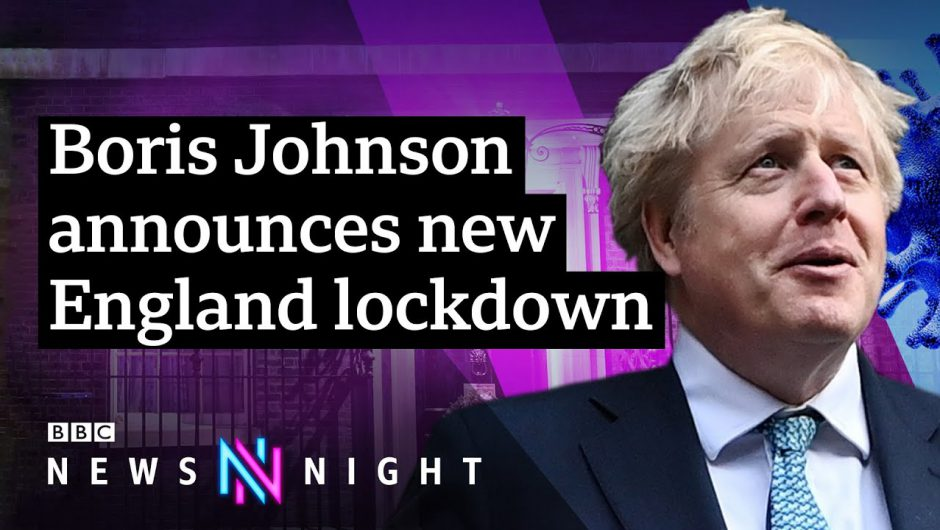 Coronavirus: New lockdown for England ahead of 'hardest weeks' – BBC Newsnight