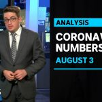 COVID-19 numbers, August 3: Four states grapple with local virus transmission | ABC News