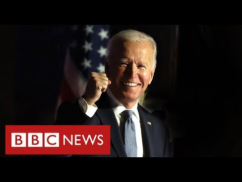 Joe Biden wins US election to become 46th President – BBC News