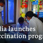 India starts vaccinating its 1.3 billion people against COVID | DW News