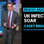 Casey Briggs looks at the latest coronavirus figures from NSW, plus the UK outbreak | ABC News
