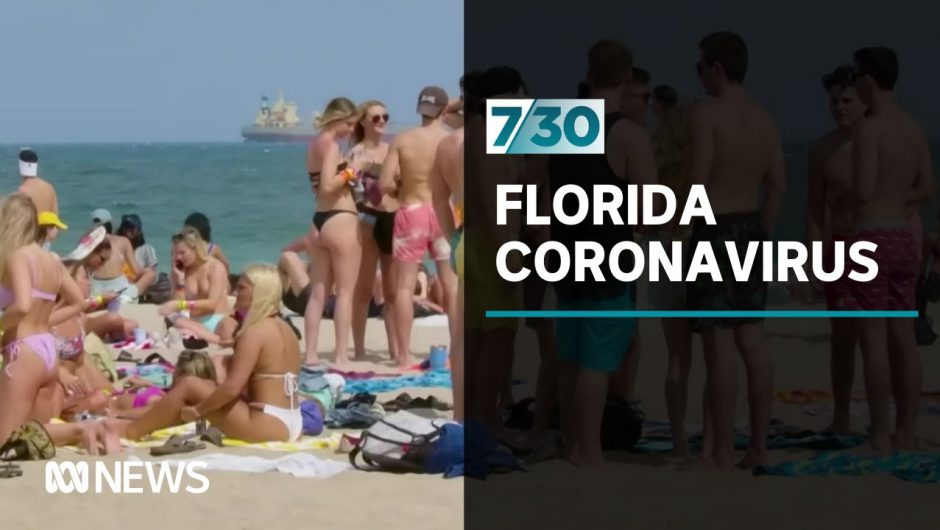COVID-19 cases surge in the US state of Florida | 7.30