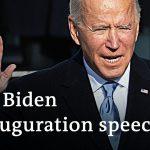 President Joe Biden's inauguration speech and analysis | DW News