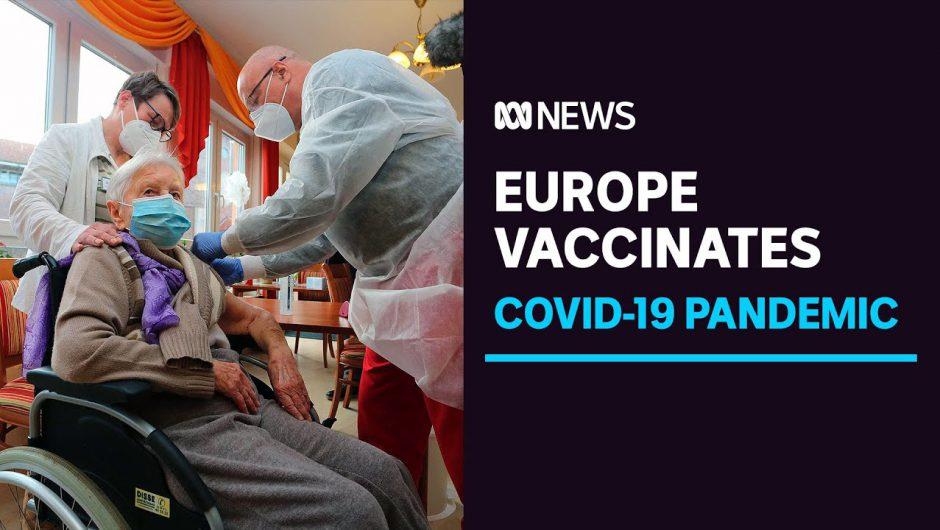 Germany, Hungary and Slovakia give first coronavirus vaccine shots ahead of EU rollout | ABC News