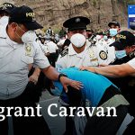 Guatemala cracks down on US-bound migrant caravan | DW News