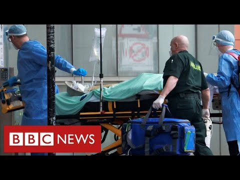Covid frontline: the harrowing work of fighting for lives at a London hospital  – BBC News