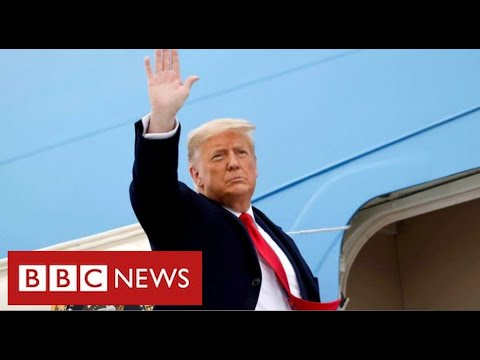 """Trump's last day as President: """"Movement we started only just beginning"""" – BBC News"""