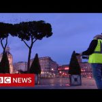 The man startling millions of starlings with lasers – BBC News
