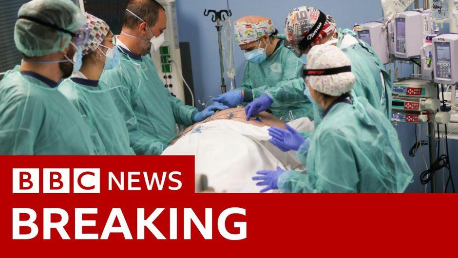 Coronavirus: UK deaths pass 100,000 – BBC News