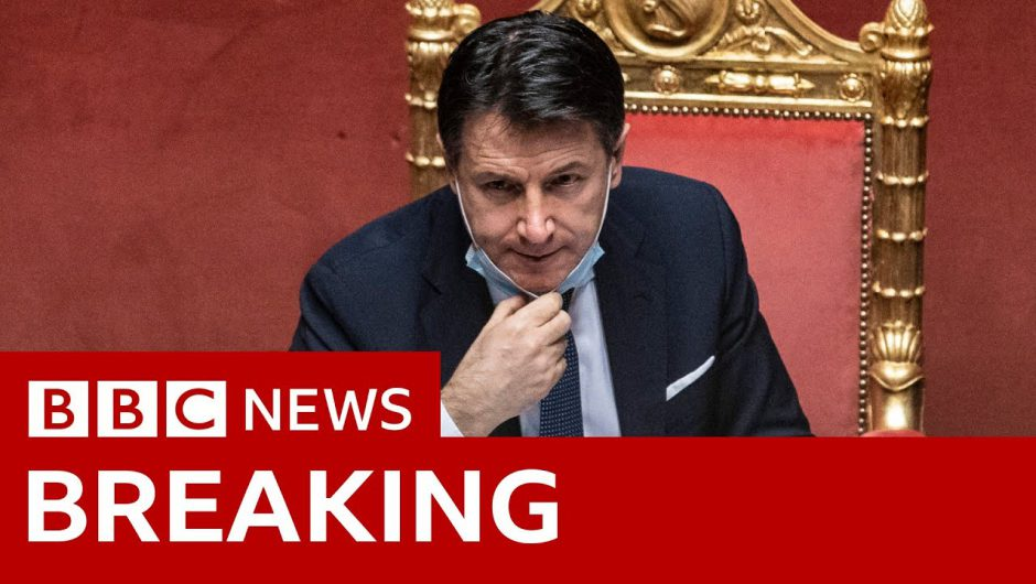 Italian Prime Minister Giuseppe Conte resigns  – BBC News