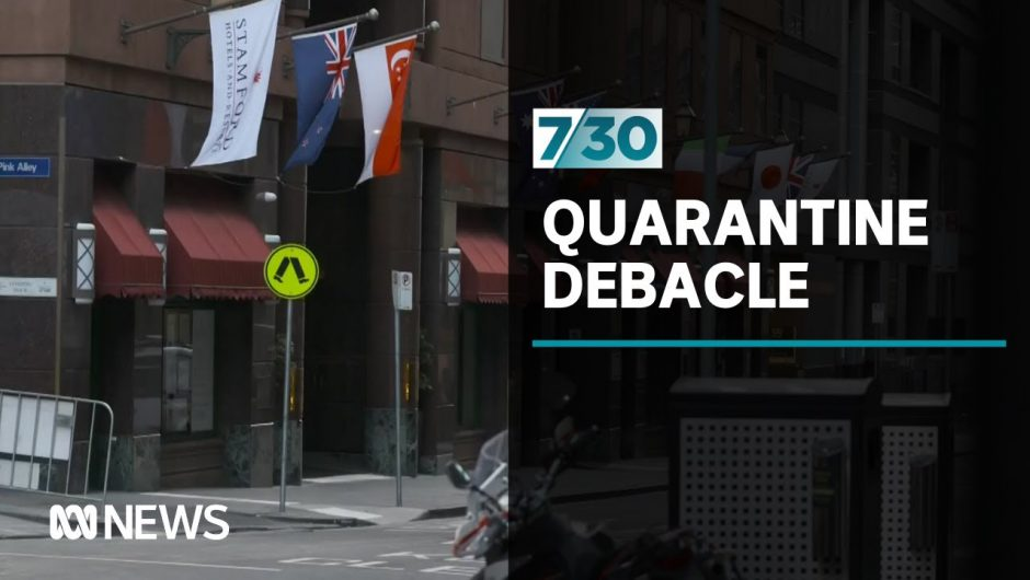 A security guard who worked at a COVID-19 quarantine hotel in Melbourne speaks out | 7.30