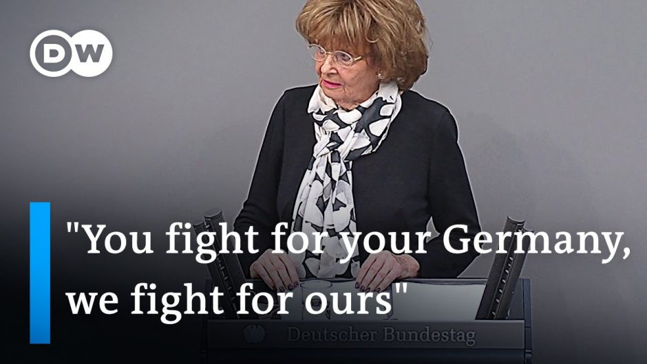 Holocaust survivor calls out far-right opposition in Holocaust Remembrance Day speech | DW News