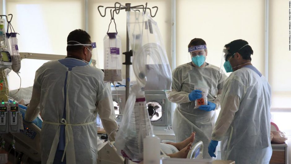 California hospitals stressed to the 'brink of catastrophe' by coronavirus surge