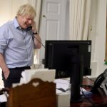 Joe Biden and Boris Johnson discuss Covid-19 recovery in phone call