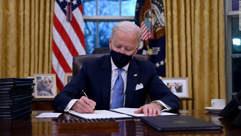 Covid-19 pandemic: Biden issues plan to improve vaccine distribution, expand testing and reopen schools