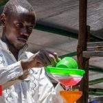 The Burundian refugee soap maker who is fighting coronavirus in Kenya