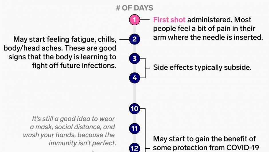 What to expect after a COVID-19 vaccine, from how long side effects last to when protection kicks in