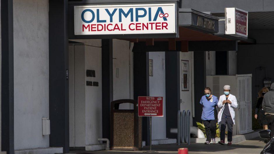 Amid COVID-19 surge, an L.A. hospital set to close its doors