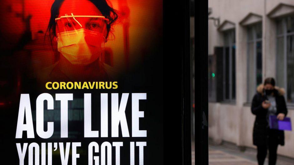 UK coronavirus LIVE: Covid deaths 'to peak next week' as lockdown end 'won't start before Easter'