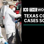 Coronavirus cases soar in Texas as US enters one of its busiest travel weeks of the year | The World