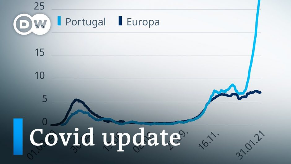 Merkel defends vaccine rollout +++ Portugal's hospitals on the brink | Coronavirus update