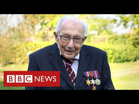 The Queen leads tributes after death of Captain Sir Tom Moore with coronavirus – BBC News