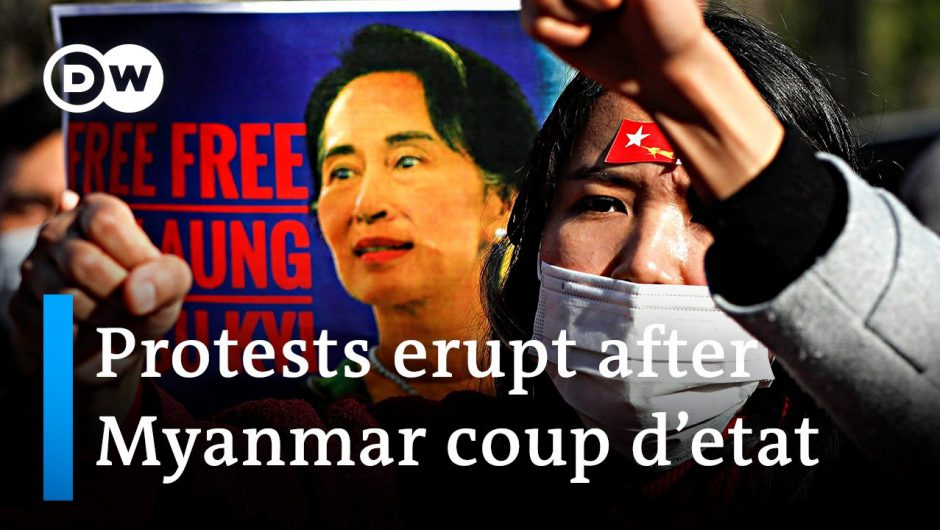 Civil disobedience grows after Myanmar coup | DW News