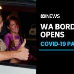 Motorists stream into Western Australia as coronavirus border restrictions ease | ABC News